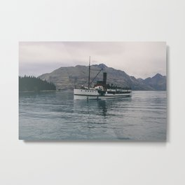 steam boat Metal Print