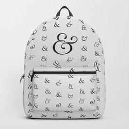 Ampersands Backpack