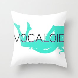 Vocaloid Inspired Shirt Throw Pillow