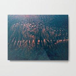 Blue Sand Metal Print