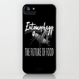 Entomophagy Future Of Food iPhone Case