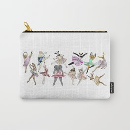 Animal Square Dance Hipster Ballerinas Carry-All Pouch