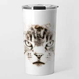 That Mischievous Cat Travel Mug