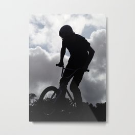 Sky Rider Metal Print