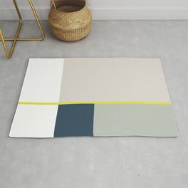 Nothing Is More Abstract Than Reality, Minimalism Print, Geometric Art Rug