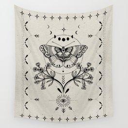 Magical Moth Wandbehang