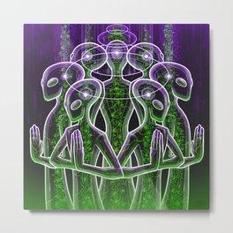 Evolve Consciousness Metal Print
