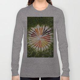 Carrot Color Wheel Long Sleeve T-shirt