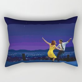 La La Land - Movie Poster - Damien Chazelle Rectangular Pillow