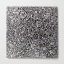 Sea shells Ocean decor Metal Print