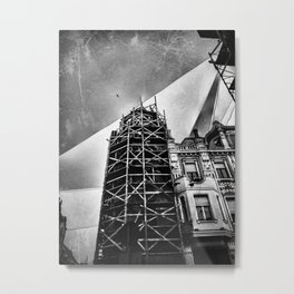 | String Theory - Experiment No. 1 | Metal Print