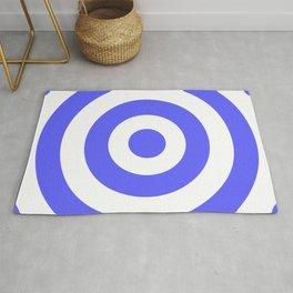Target (Azure & White Pattern) Rug