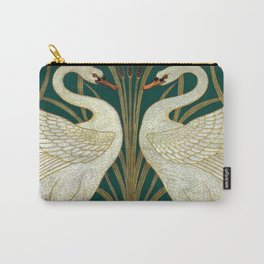 Walter Crane's Swan, Rush, Iris Carry-All Pouch
