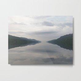 Loch Ness Metal Print