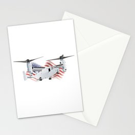Osprey American Convertiplane Aircraft Stationery Cards