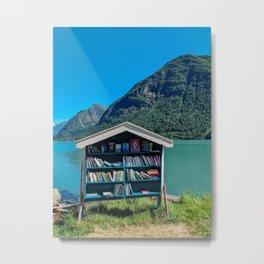 Booktown Metal Print
