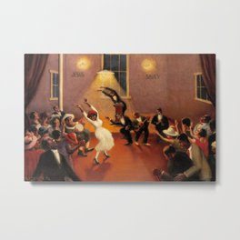 African-American Classical Masterpiece 'Tongues (Holy Rollers)' by Archibald Motley Metal Print