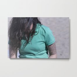 Girl in Venice Beach, L.A Metal Print