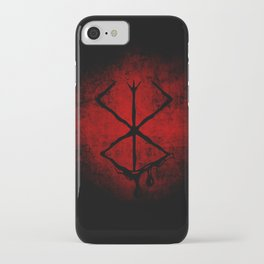 Black Marked Berserk iPhone Case