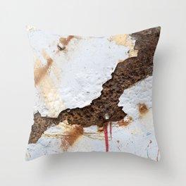 Bleeding Throw Pillow