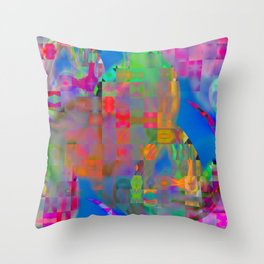 Pieces and accident ... Throw Pillow
