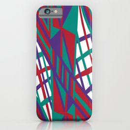 Purple Infusion iPhone Case