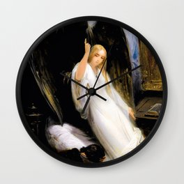 Study Of The Angel Of Death - Digital Remastered Edition Wall Clock