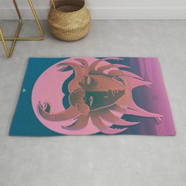 The Crab, Cancer Rug