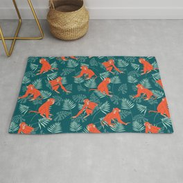 Monkey Forest Rug