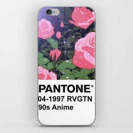 PANTONE 90s Anime - Revolutionary Girl Utena iPhone Skin