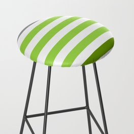 Stripes Gradient - Green Bar Stool