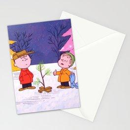 Movie A Charlie Brown Christmas Charlie Brown Linu Stationery Cards