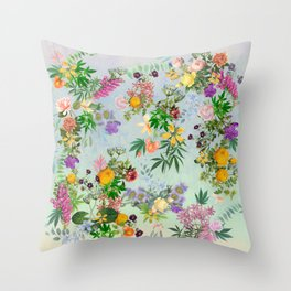 Dainty Stoner Throw Pillow