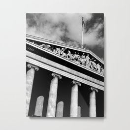 The British Museum Metal Print