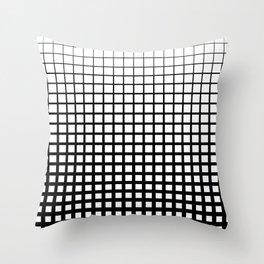 Halftone III Throw Pillow