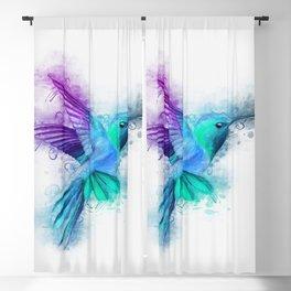 Humming Bird Blackout Curtain