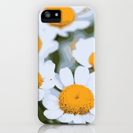 Sweet Summer Flower Patch iPhone Case