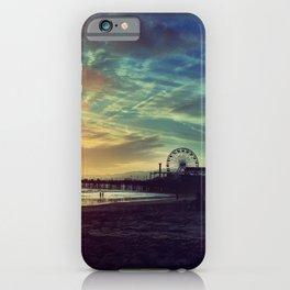 Santa Monica Sunset iPhone Case