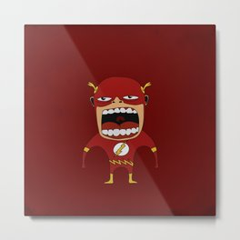 Screaming Flash Metal Print