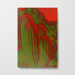 Cacti Abstract I Metal Print