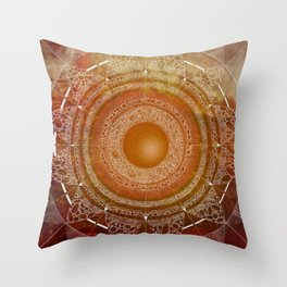 Svadhisthana (carnal knowledge) Throw Pillow