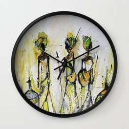 African Pride 4 Wall Clock
