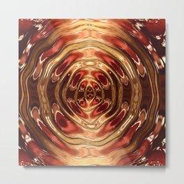 Terracotta Transmutation Metal Print