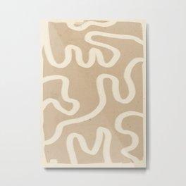 abstract minimal  65 Metal Print