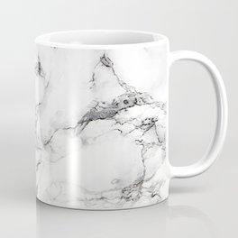 Greyish White Marble Coffee Mug