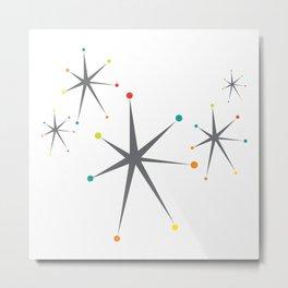 Atomic stars Metal Print