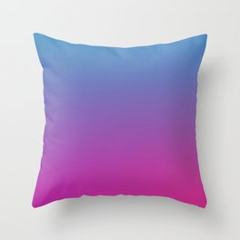 RETRO BLAST - Minimal Plain Soft Mood Color Blend Prints Throw Pillow