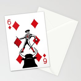 Curator Deck: The 6 of Diamonds Stationery Cards