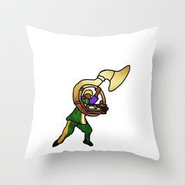 Take me to the Mardi Gras! Throw Pillow