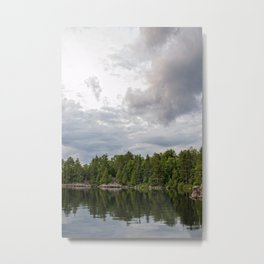 Boundary Waters Landscape Metal Print